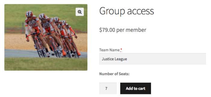 Teams for Memberships: Purchasing a team