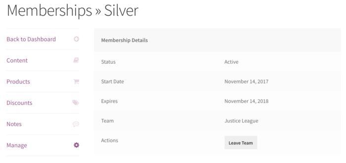Teams for Memberships: Manage membership