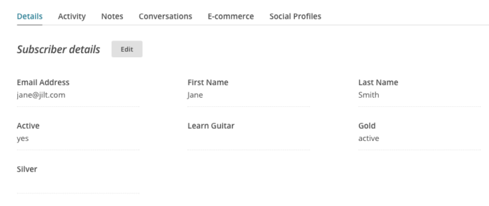 MailChimp for WooCommerce Memberships MailChimp Dashboard