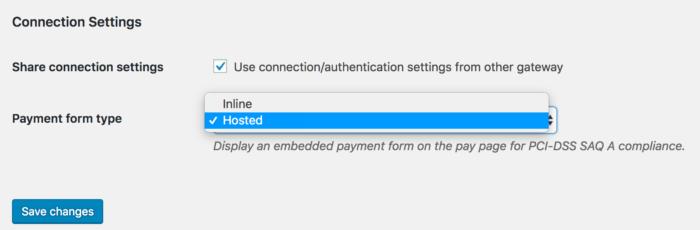 WooCommerce Authorize.Net connection settings (echecks)