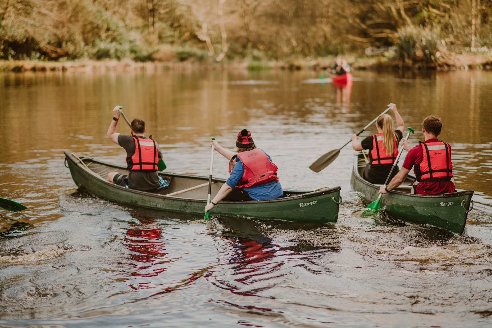 Canoeing at Dunskey Estate