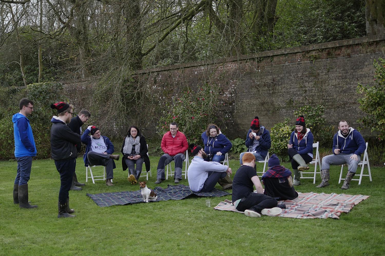 A surprise picnic at Dunskey Estate.