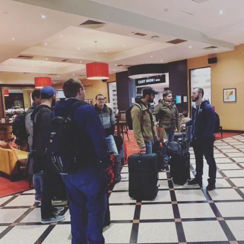 SkyVerge team at Glasgow Marriott