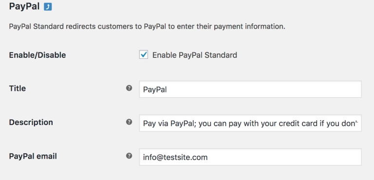 Enable PayPal on a nonprofit site.