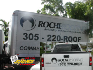 roche roofing poster