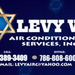 levy air conditioning cards - jesus levy