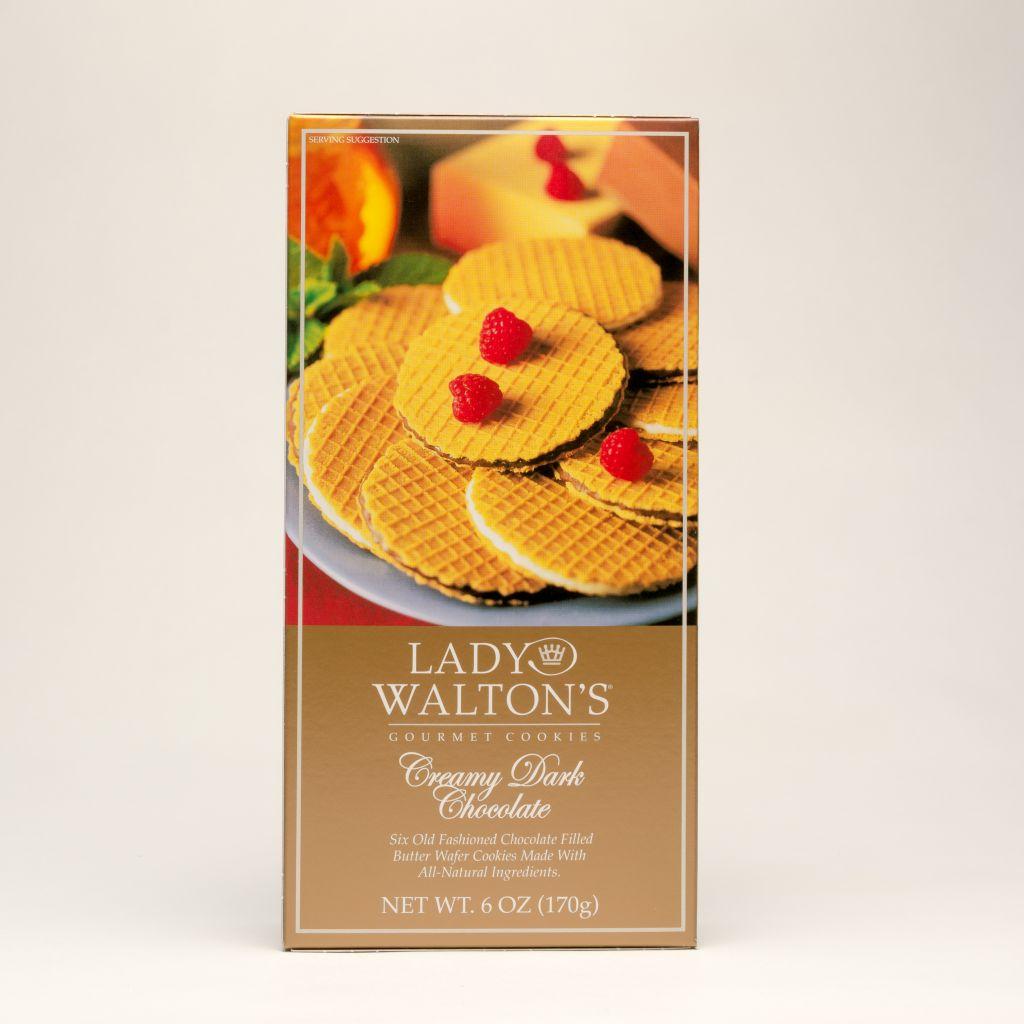 Lady Walton's Gournet Cookies - Creamy Dark Chocolate