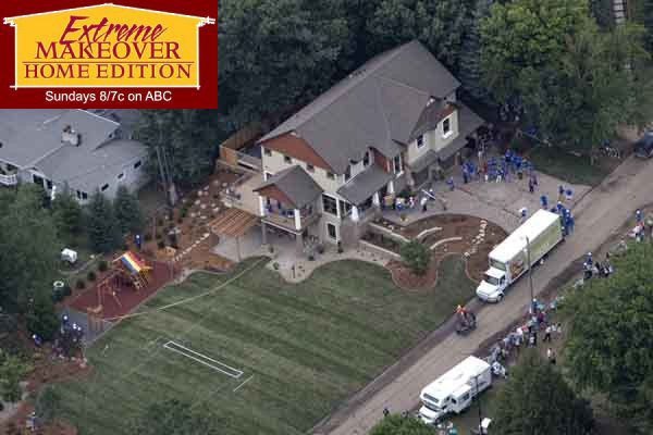 Extreme Home Makeover - Landscaping & Irrigation