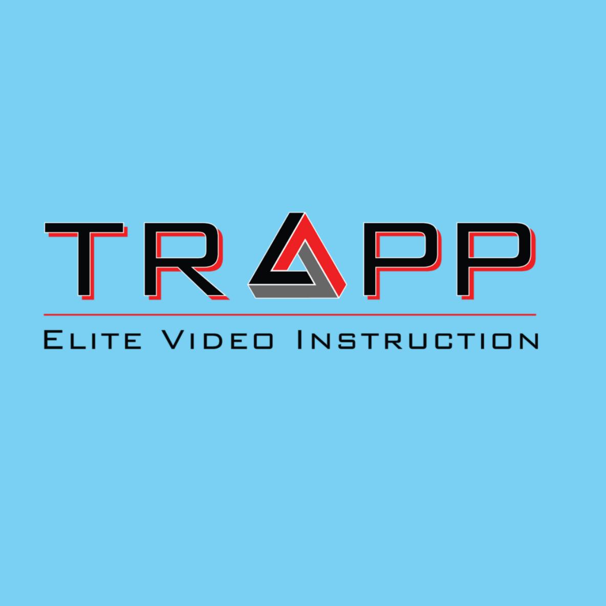 BoBella Branding Agency custom logo design sample for Trapp Elite Video Instruction