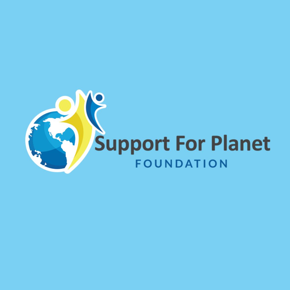 BoBella Branding Agency custom logo design sample for Support for Planet Foundation