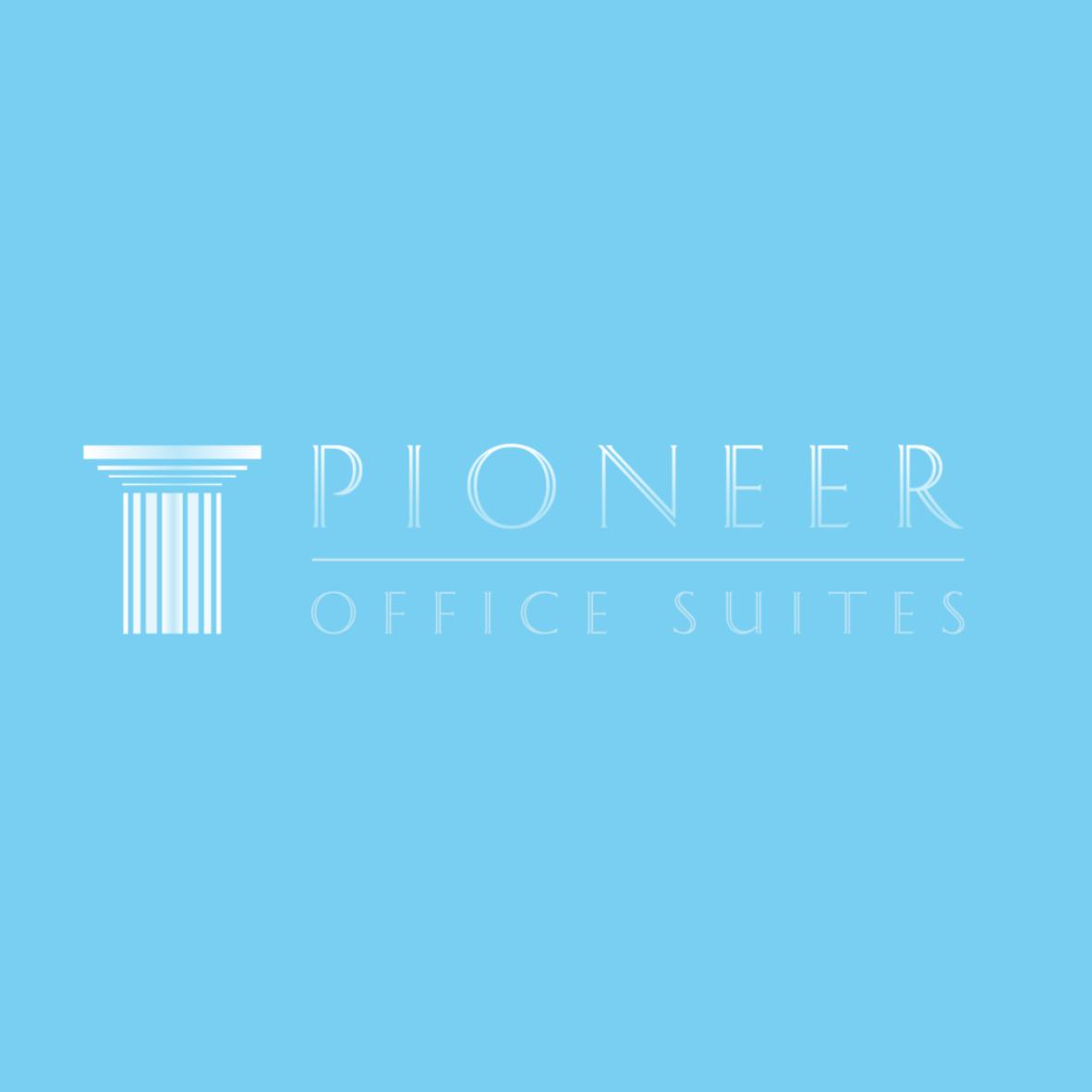 BoBella Branding Agency custom logo design sample for Pioneer office suites