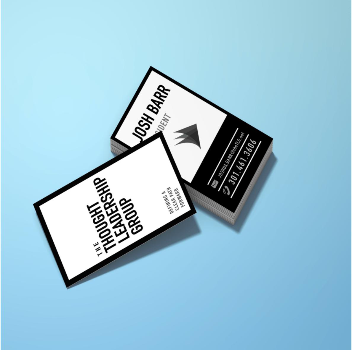 BoBella Branding Agency Business card sample
