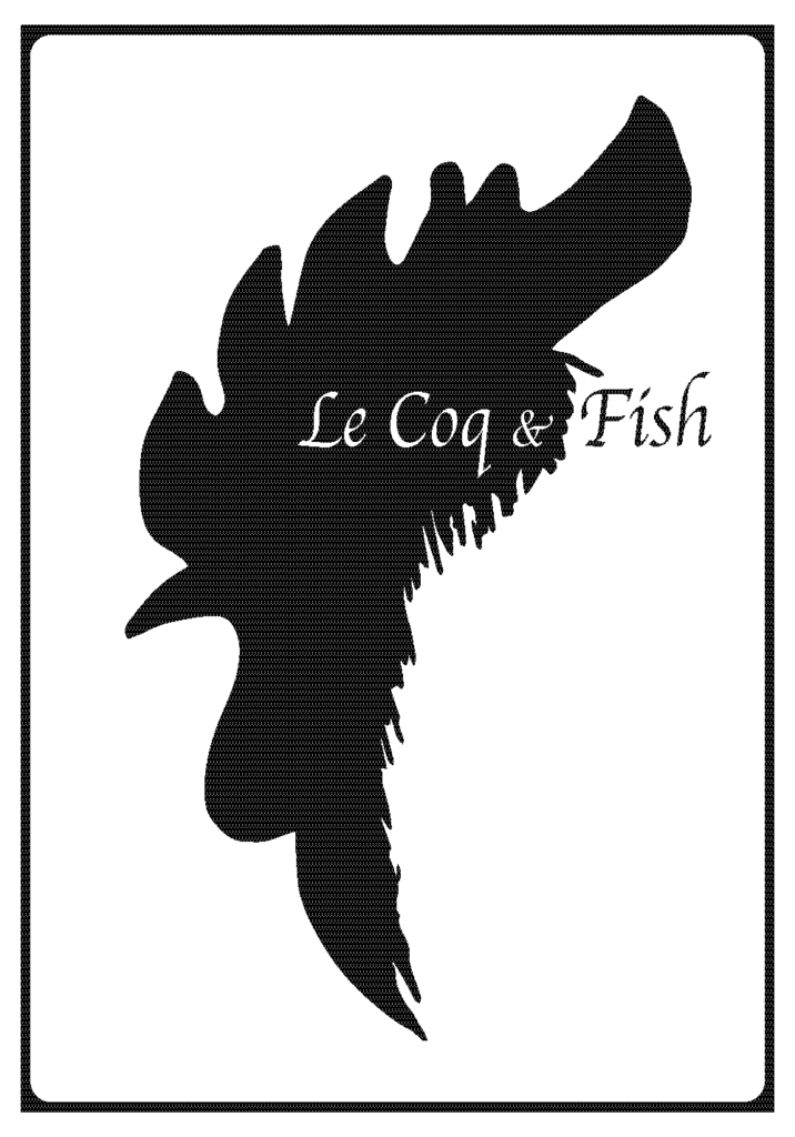 le coq and fish