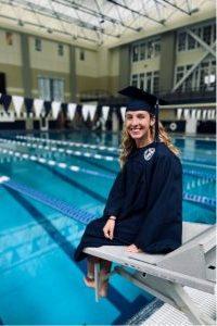 Swim Instructor at Addison Village Club, Grace Walker.