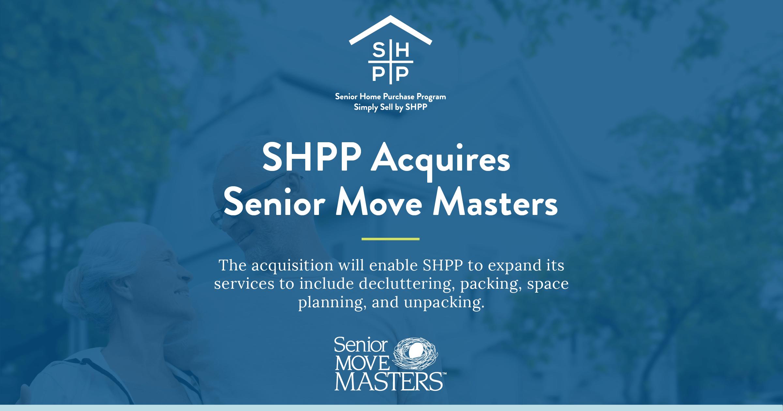 SHPP Acquires Senior Move Masters