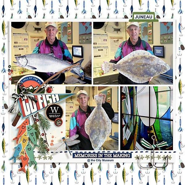 2019 Memories in the Making fish Tales
