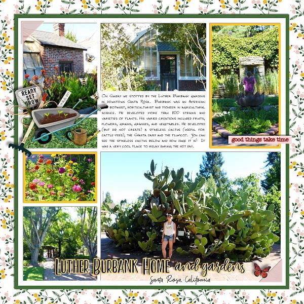 Luther Burbank Gardens