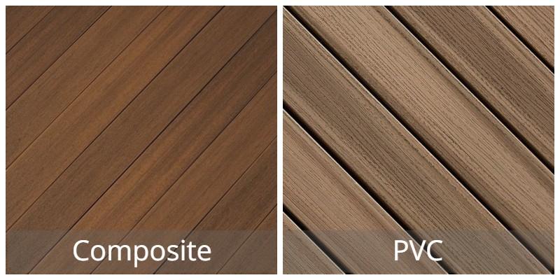 Composite Decking vs Pvc Deck