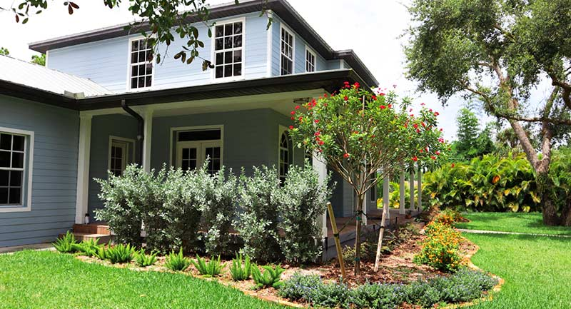 southern style landscaping