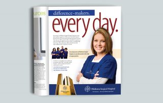 Oklahoma Surgical Hospital Every Day campaign ad