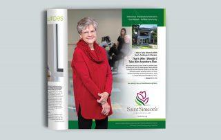 Saint Simeon's Parkinsons campaign ad 1/3