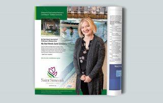 Saint Simeon's Parkinsons campaign ad 2/3