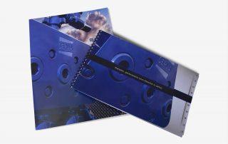 Serva Group brochure and pocket folder