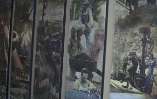 Corporate History Wall Mural