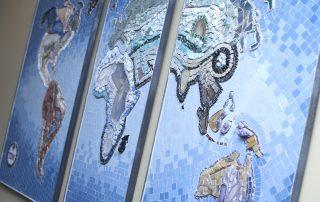 Corporate History Mosaic
