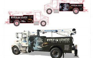 Ramsey Titan Truck Vehicle Graphics