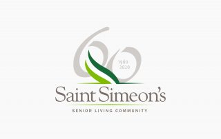 Saint Simeon's 60th Anniversary Logo