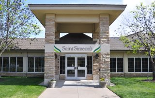 Saint Simeon's Exterior Signage