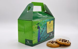 Saint Simeon's Cookie Box Packaging