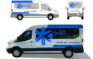 Tulsa Retina Consultants Van Vehicle Graphics