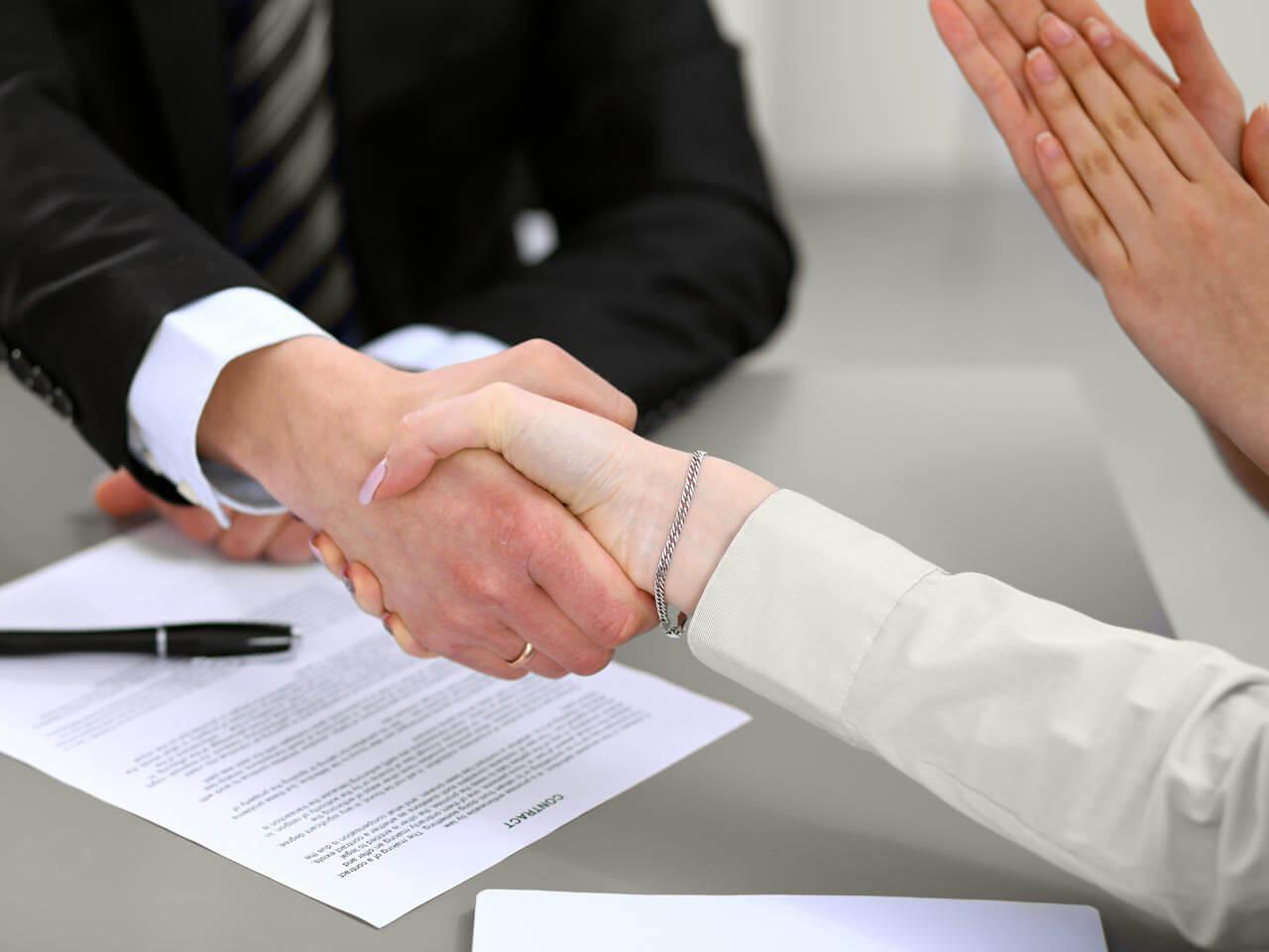 Hand Shaking in Atlanta Estate Law Center