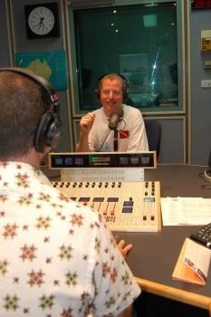 Greg in Aussie studio