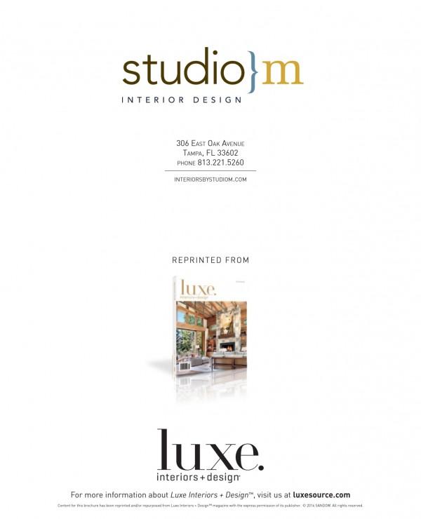 8 | Luxe Magazine | Studio M | Telluride CO | Interior Design