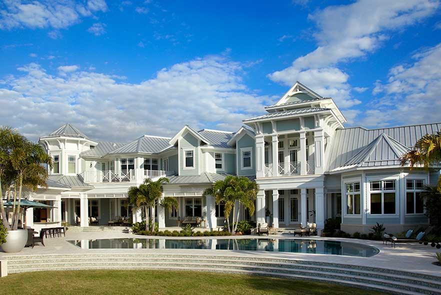 Coastal Beach Home Idea
