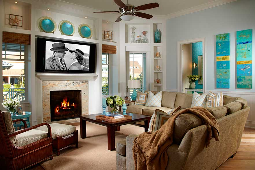 Traditional Interiors - Living Spaces Architect