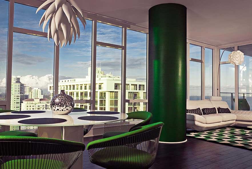 Contemporary Interior - Condo Design
