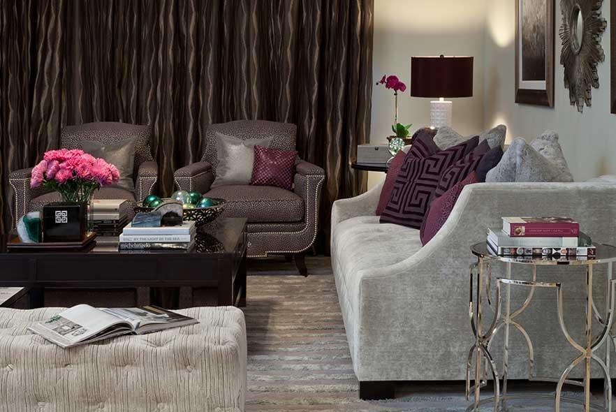 Transitional Living Room - Interior Design Ideas
