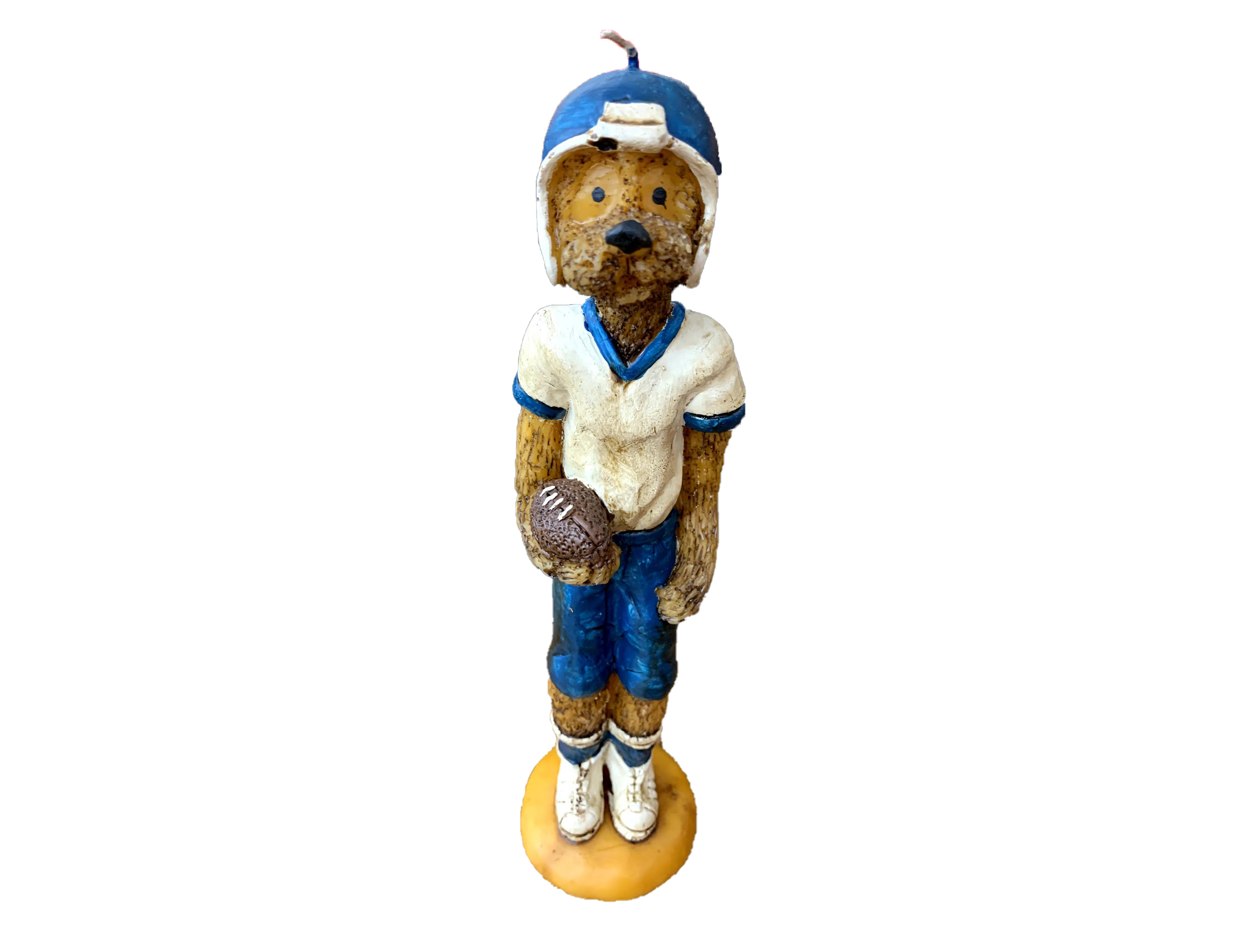 Blue bear candle ps2