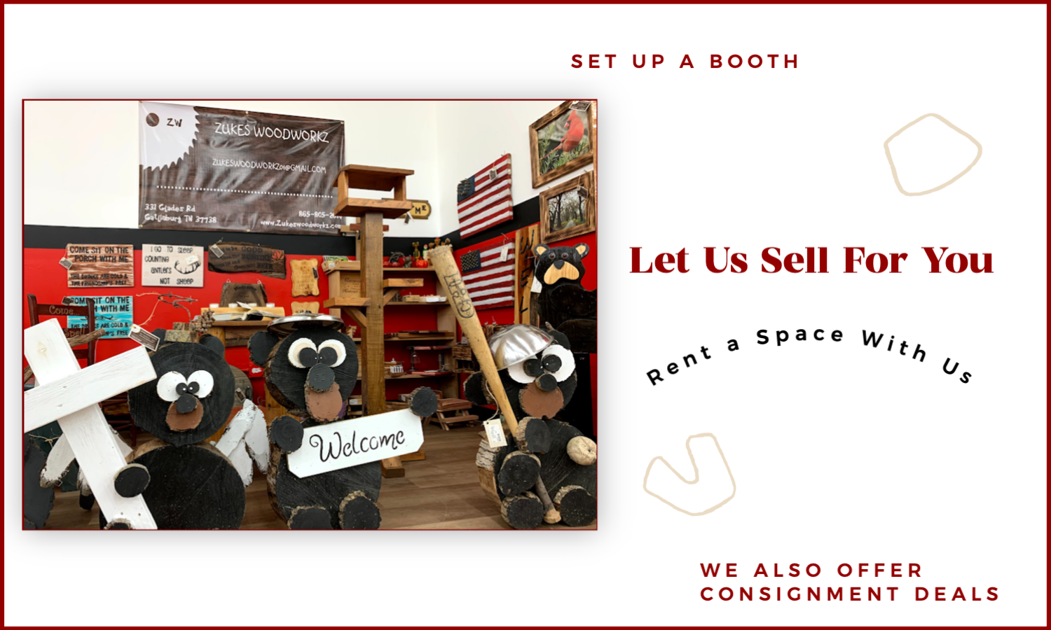 Let us sell for you 4