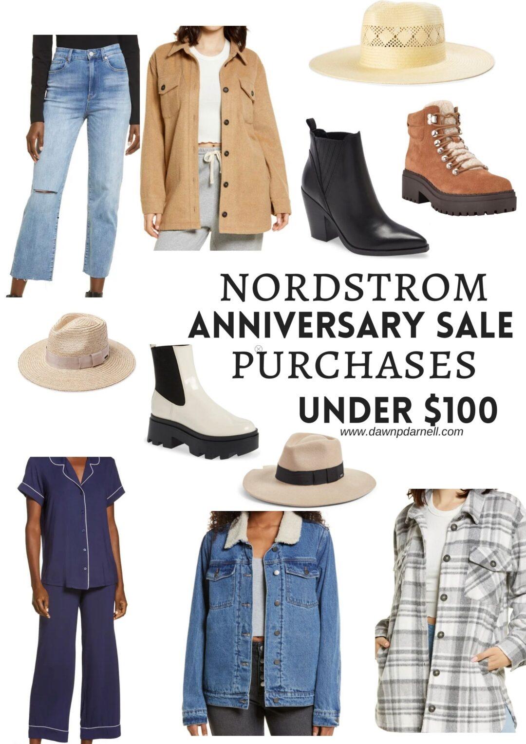 #nsale, Nordstrom anniversary sale, Marc Fisher boots, denim shearling jacket