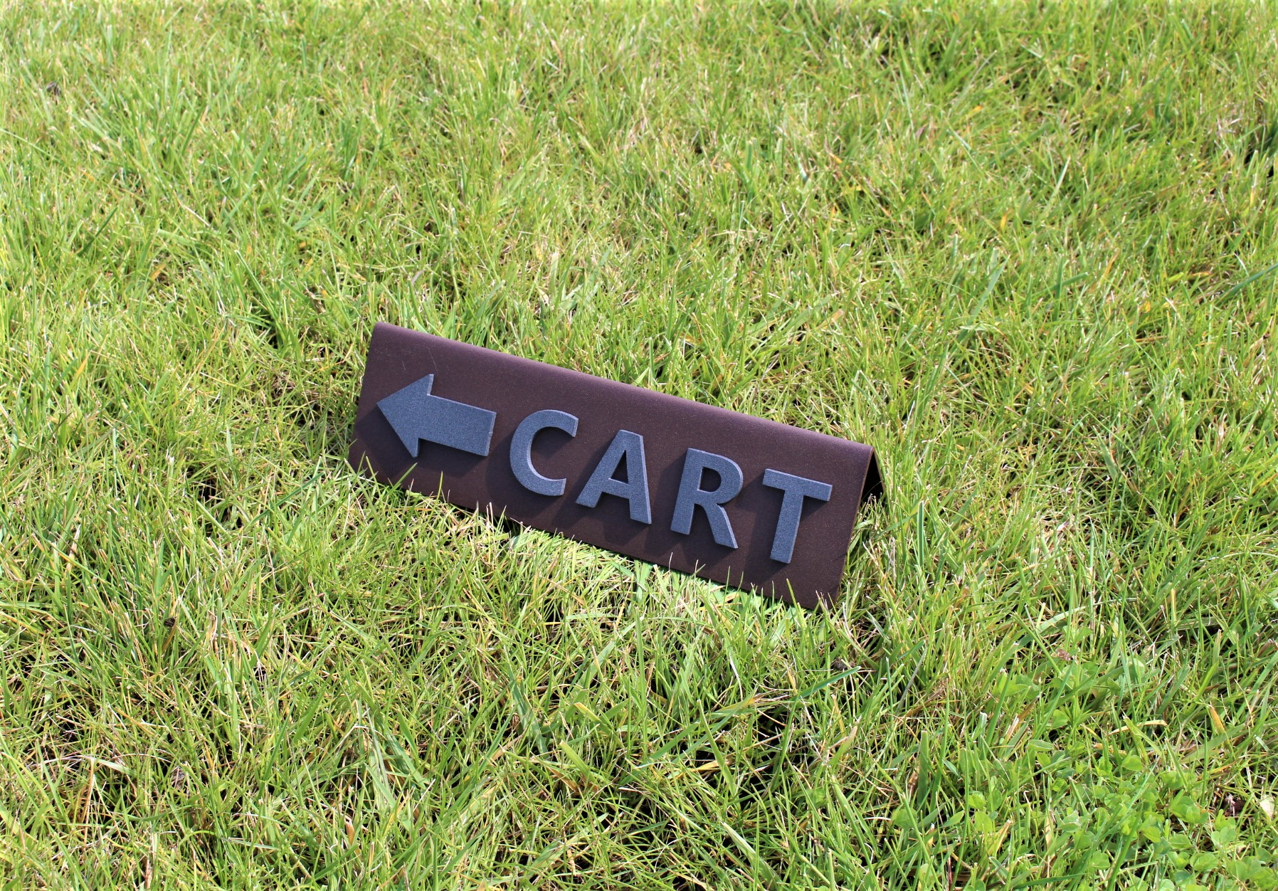 A-FRAME CART SIGN -TWIN DOLPHINS (2)