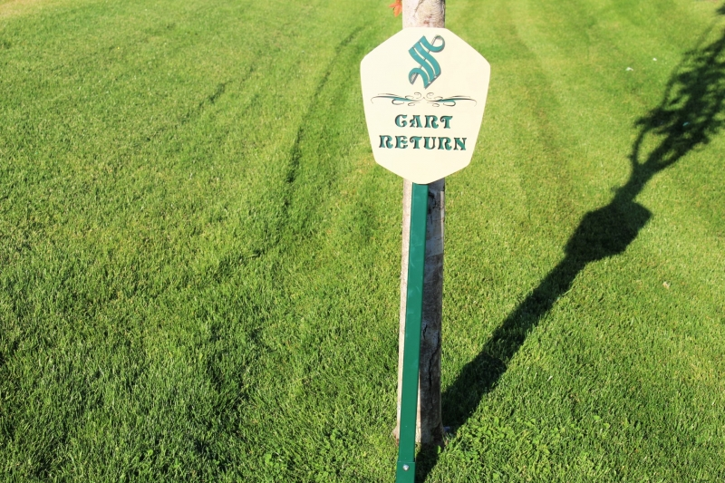 Cart Return Signs SONOMA