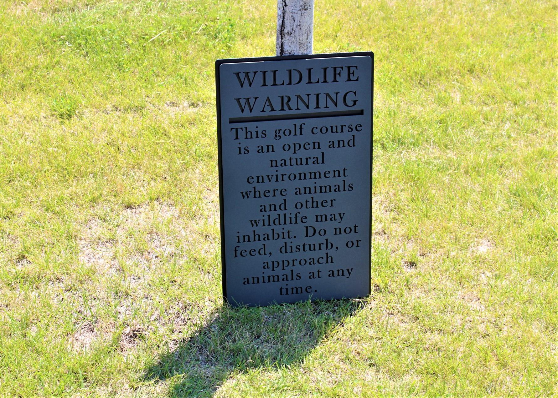 Golf Course Directional Signage -TPC Colorado