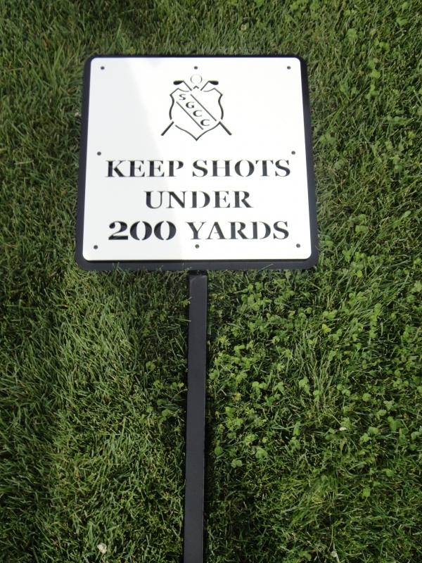 Golf Course Signage -Skagit