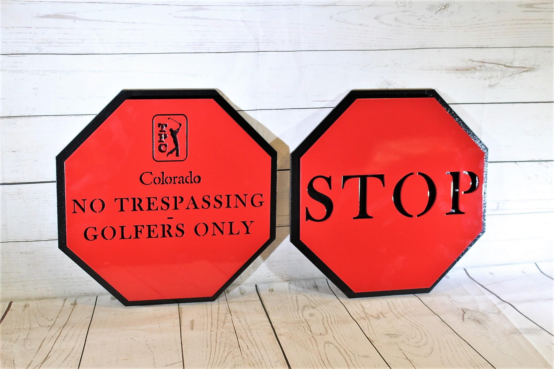 Stop Signs -TPC Colorado
