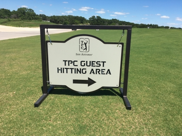 TPC San Antonio Sign